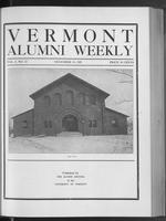 Vermont Alumni Weekly vol. 01 no. 13