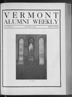 Vermont Alumni Weekly vol. 01 no. 15