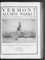 Vermont Alumni Weekly vol. 01 no. 08