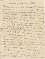 Lemuel Colton to Ruth Colton, 1837 July 30