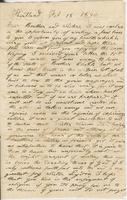 [Lemuel Colton?] to Andrew and Ruth Fletcher and Lydia Colton,                            1840 February 18