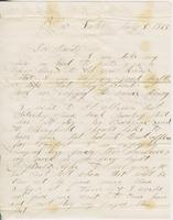 Andrew Craig Fletcher to Andrew and Ruth Fletcher, 1865 July 5                             and July 10