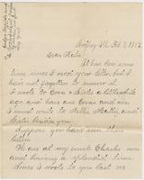 Mamie Flagg to Katherine Fletcher, 1885 February 7