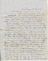 Cyrus Cornelius Pratt to Andrew and Ruth Fletcher, [1848?]                             February 10