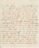 Ellen Colton to Ruth Fletcher, [circa 1855] April 22
