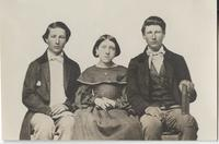 George B. Smith, Henrietta Smith, and Edward C. Smith photographic portrait