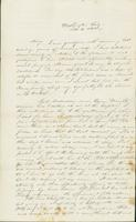 Letter to Mary Collamer, February 4, 1844