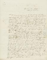 Letter to Mary N. Collamer, February 17, 1844