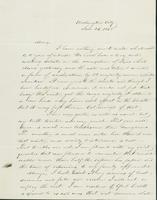 Letter to Mary N. Collamer, January 26, 1845