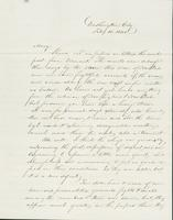 Letter to Mary Collamer, February 10, 1845