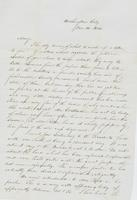 Letter to Mary Collamer, December 14, 1845