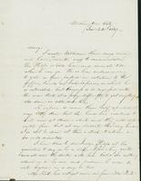Letter to Mary Collamer, January 24, 1847