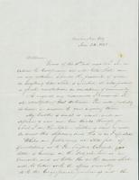 Letter to William Collamer, January 24, 1848