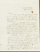 Letter to Mary N. Collamer, February 7, 1848