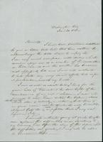 Letter to Harriet Johnson, June 20, 1848