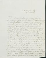Letter to Mary N. Collamer, December 3, 1848