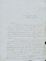 Letter to Mary N. Collamer, January 30, 1849