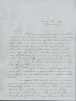 Letter to Mary N. Collamer, February 14, 1849