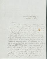 Letter to Mary N. Collamer, March 5, 1849