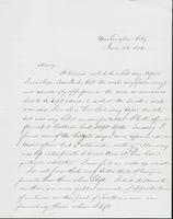 Letter to Mary N. Collamer, June 26, 1856