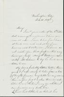 Letter to Mary N. Collamer, December 12, 1858