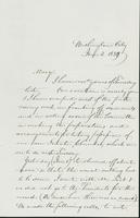 Letter to Mary Collamer, January 2, 1859
