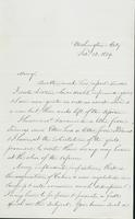 Letter to Mary N. Collamer, February 13, 1859