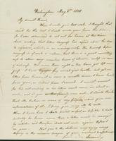 Letter to Eunice Todd Crafts, May 8, 1820