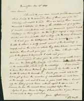 Letter to Samuel P. Crafts, December 20, 1820
