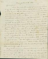 Letter to Eunice Todd Crafts, March 12, 1820