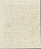 Letter to Samuel P. Crafts, January 23, 1819