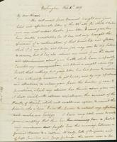 Letter to Eunice Todd Crafts, February 6, 1819