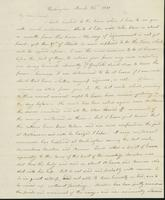 Letter to Eunice Todd Crafts, March 26, 1820