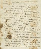 Letter to Samuel P. Crafts, November 19, 1820