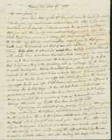 Letter to Eunice Todd Crafts, November 19, 1820