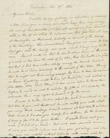 Letter to Eunice Todd Crafts, November 27, 1820