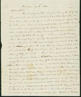 Letter to Eunice Todd Crafts, December 31, 1820