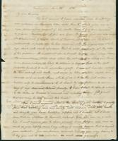 Letter to Eunice Todd Crafts, January 22, 1821