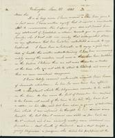 Letter to Dr. Eli Todd, January 28, 1821