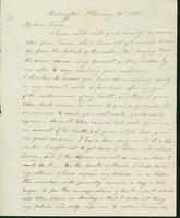 Letter to Eunice Todd Crafts, February 19, 1821