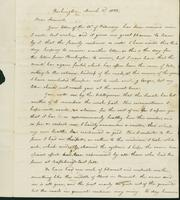 Letter to Samuel P. Crafts, March 3, 1822