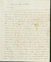 Letter to Samuel P. Crafts, April 22, 1822