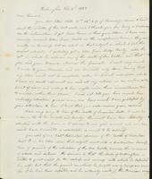 Letter to Samuel P. Crafts, February 2, 1823