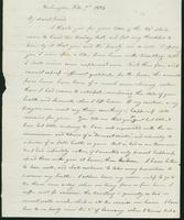 Letter to Eunice Crafts, February 7, 1824