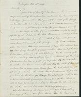 Letter to Samuel P. Crafts, February 15, 1824