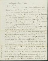 Letter to Nathan and Mary Hill, June 11, 1842