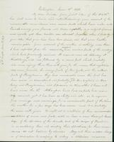 Letter to Nathan and Mary Hill, June 18, 1842