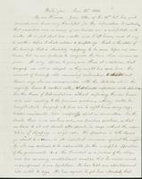 Letter to Nathan and Mary Hill, June 25, 1842