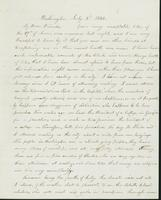 Letter to Nathan and Mary Hill, July 3, 1842