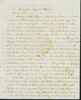 Letter to Matilda Corbin, July 7, 1842